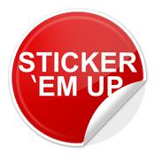 Sticker Em Up sticker
