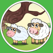 beautiful farm animals for all kids - no ads level•