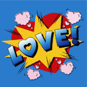 Loveagram - Easy to use Photo Camera Adjuster to add yr Valentine Image Sticker Effects Free facebook sticker