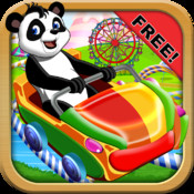 Panda Adventure At The Carnival - Coaster Flying At the Candy Arcade