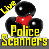 Police scanner radio+ : live police, fire, ambulance, air traffic control and weather radios feeds . 911 police & emergency radio pro scaner