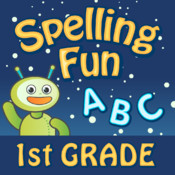 Vocabulary & Spelling Fun 1st Grade HD: Reading Games with A Cool Robot Friend