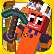 Action Craft Lumberjack - Mini Mine Game Timberman Edition