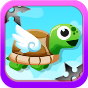 Amazing Turtle Mega Jump Pro - Don`t Touch The Ninja Stars