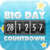 Big Day Countdown - Days Until Event