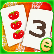 Numbers Memory Match! Numbers and Counting Game for Kids Free