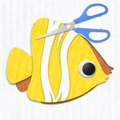 Labo Paper Fish - Make fish crafts with paper and play creative marine games paper art