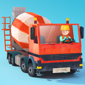 Little Builders - Trucks, Cranes & Diggers for Kids