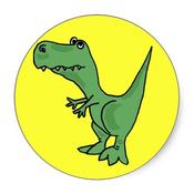 Dinomania Free Stickers for WhatsApp & Viber!