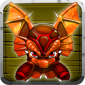 Dragon Fight - For Kids! Throw Dragon Fire And Use Dragon Powers In This Turn Based Strategy Game! dragon