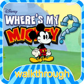 Walkthrough for Where is My Mickey - Where's My Mickey Wiki Guide, All levels Walkthrough, Tips music with mickey