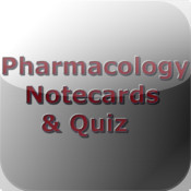 Pharmacology NoteCards & Quiz for iPhone