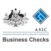 ASIC Business Checks