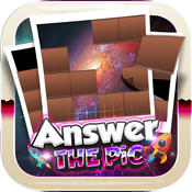 Answers The Pics : Galaxy & Space Trivia Pictures Puzzles Games