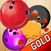 Bowling ball Match Puzzle - Align the ball to win the pin - Free Edition ball