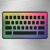 Keyboard Themes - Make Your Own Keyboard with Photos, Wallpapers, Background Colors, Custom Fonts and Textures - designed for iPhone 5, 6, 6+ and iPod Touch touch screen keyboard