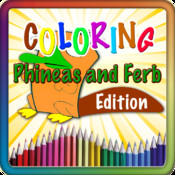 Paint Coloring For Phineas and Ferb Edition