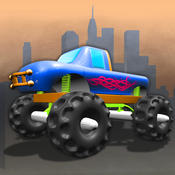 American Monster Truck Race Saga - best speed driving arcade game bike race