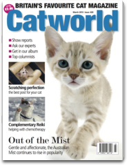 Catworld Magazine - Cat World is the UK`s favourite cat magazine