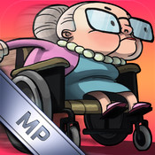 Getaway Granny - Multiplayer Angry Racing Gran Skateboard Run Edition