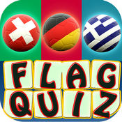 National Football Flag Quiz Free ~ guess world soccer playing countries flags name trivia
