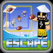 American Football Super Hero Skin Escape Bowl Ball