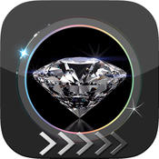 BlurLock - Diamond Gems & jewels : Blur Lock Screen Photo Maker Wallpapers Pro