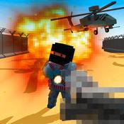 Cube War: Military Battlefield 3D ready