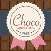 Chocolate Candy Bricks: Delicious 2048 version with chic graphics