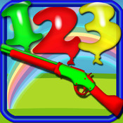 Shoot The Numbers - Playground Balloons Numbers Shooting Game point numbers