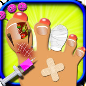 Toe nail doctor – A Free nail surgery game for kids & girls