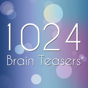1024 Brain Teasers - Cool math block puzzle