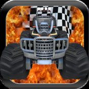 Monster Truck Hill Racing - A Free and Fun Racing Game for Kids sprint car racing