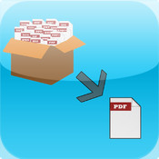 Turbo PDF Converter - Merge PDF files and Convert Documents , Map , WebPages into PDF for iPhone and iPad contain pdf417