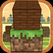 A Building Block World Tower Builder - Cool Pixel Cube Stacker