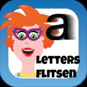 Juf Jannie - letters flitsen voor kinderen
