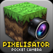Pocket Pixelisator Cam for Minecraft with Photo FX Editor & Skin Face Theme Maker