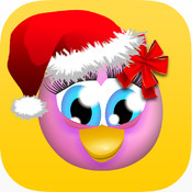 Talking Polly the Penguin: FREE cute dancing on ice pet app for kids