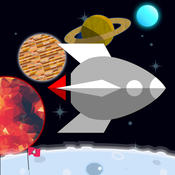 FLAT3~galaxy~【space travel and collect rockets】