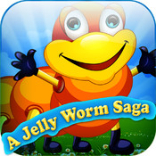 A fun jelly worm saga – save the jet worm from crazy ants