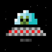 Scrappy UFO - Flying Saucer