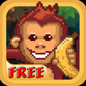 Super Monkey Jungle Crash Land Classic, Free Game