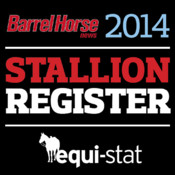 Barrel Horse News Stallion Register for iPad crate and barrel coupons