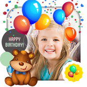 Happy Birthday Kids Picture Frames FREE