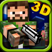 Pixlgun 3D - Block World Pocket Shooter (Minecraft style edition)