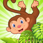 Rainforest Monkey Fall Craze ZX : Jaguar Grab Jungle Blitz