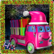 Christmas Gift Truck-Decorate The Christmas Tree:Kids Game Free HD christmas stars