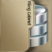 Filing Cabinet Free for iPhone - mobile database