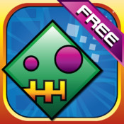 Geometry Falldown - Dash Your Way With 250 Levels
