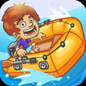 Speedboat with No Brakes - Reef Racer PRO